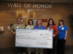 St. Francis employees give generously to United Way of Richland-Wilkin