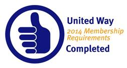 UW-RW has completed 2014 Membership Requirements of United Way